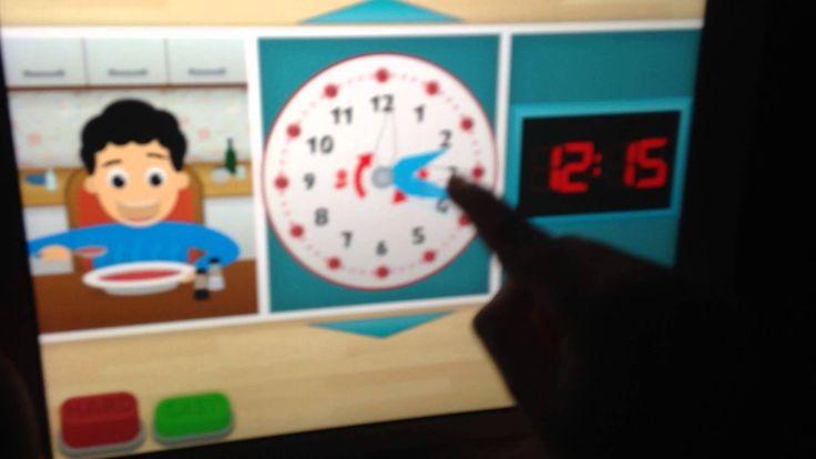 Curious Kid & Clock