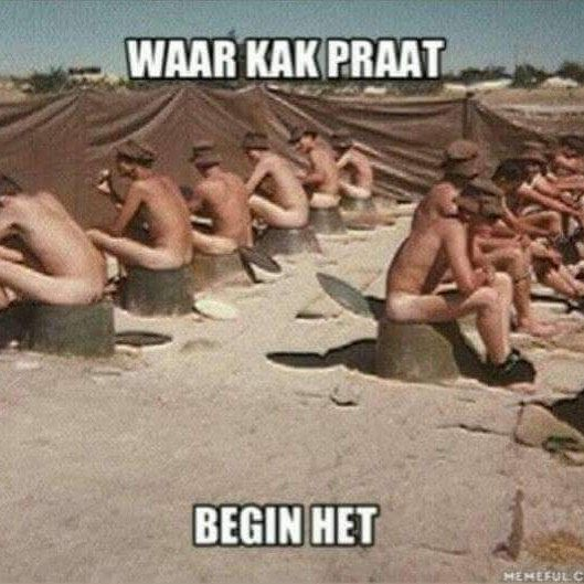 Where kak praat began! #southafrica #army #kakpraat #capetown  Share the Shit South Africans Say with @shit_sa_say and your friends!  Find us on Facebook Twitter and Tumblr!