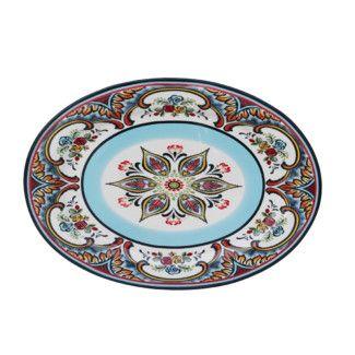 <strong>EuroCeramica</strong> Zanzibar Oval Platter