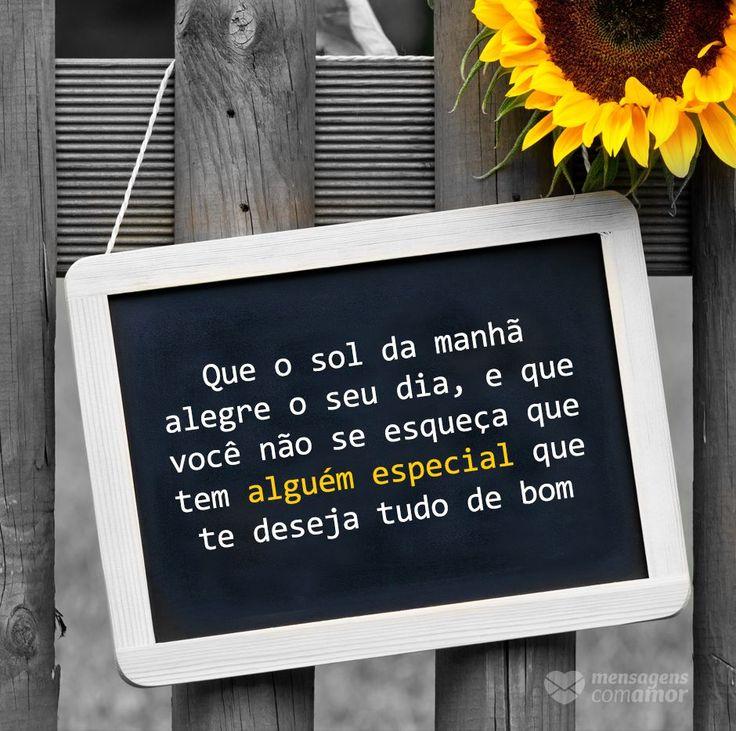 #mensagenscomamor #frases #sol #pessoas #especiais #desejos #sentimentos