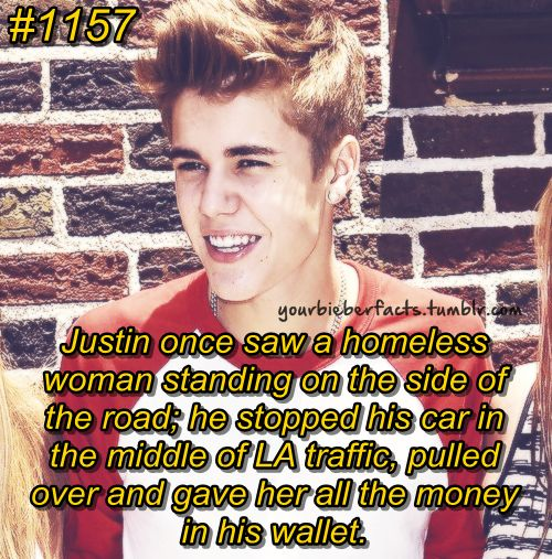 If that doesn't change your outlook on justin then I don't know what does