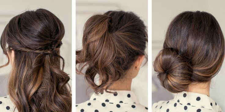 Fast and easy hairstyles – styling ideas with instructions