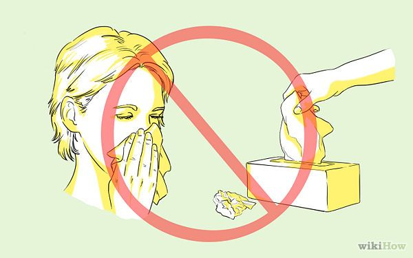Clear a Stuffy Nose - wikiHow