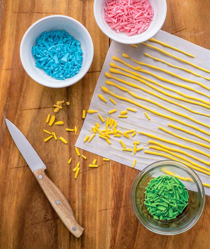 Homemade sprinkles recipe recipe homemade sprinkles