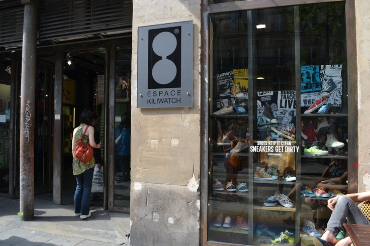 Bezoek Parijs. Killiwatch: oud in ' één shop. www.inretail.nl/mijninspiratie