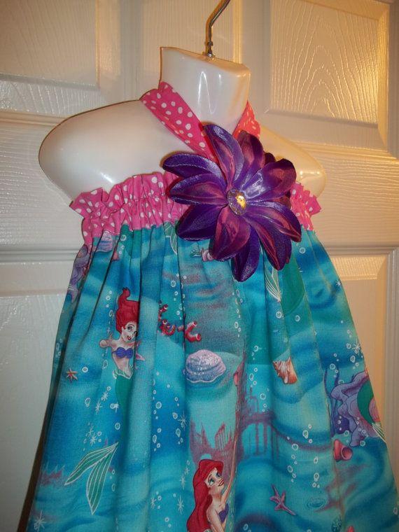 ariel dress disney princess birthday party mermaid outfit