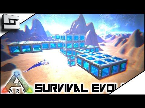 nice ARK: Survival Evolved - TEK UNDERWATER BASE! E18 ( Modded Ark w/ Pugnacia Dinos )