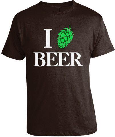 I Love Beer /w Hop T-Shirt