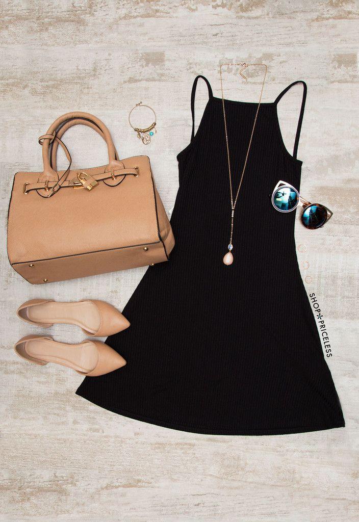 Dear Jo Dress - Black – Shop Priceless