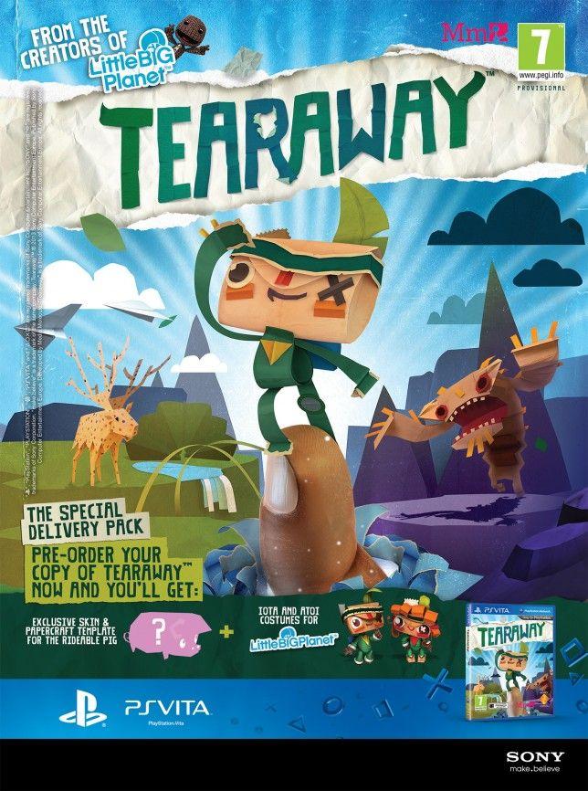 Oooooh! Tearaway by Media Molecule (mediamolecule, 2013)