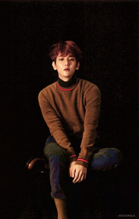 Baekhyun - 161226 'For Life' album contents photo - [SCAN][HQ] Credit: HyunaNolja.