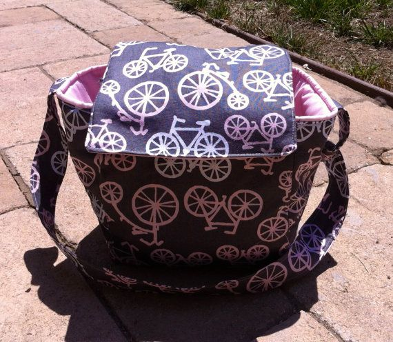 Insulated Lunch Bag Tote Bicycles