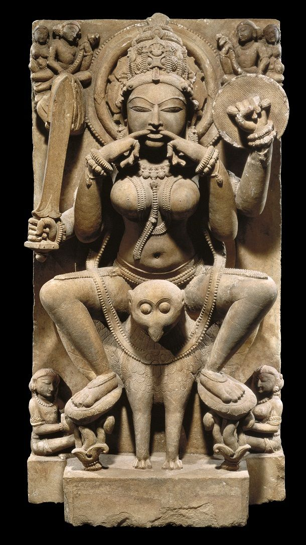 Yogini, first half of the 11th century, India Uttar Pradesh. San Antonio Museum of Art