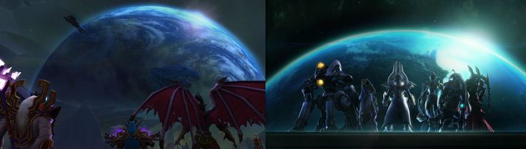 Anyone else getting a distinctly StarCraft-ish feel from Argus? #worldofwarcraft #blizzard #Hearthstone #wow #Warcraft #BlizzardCS #gaming