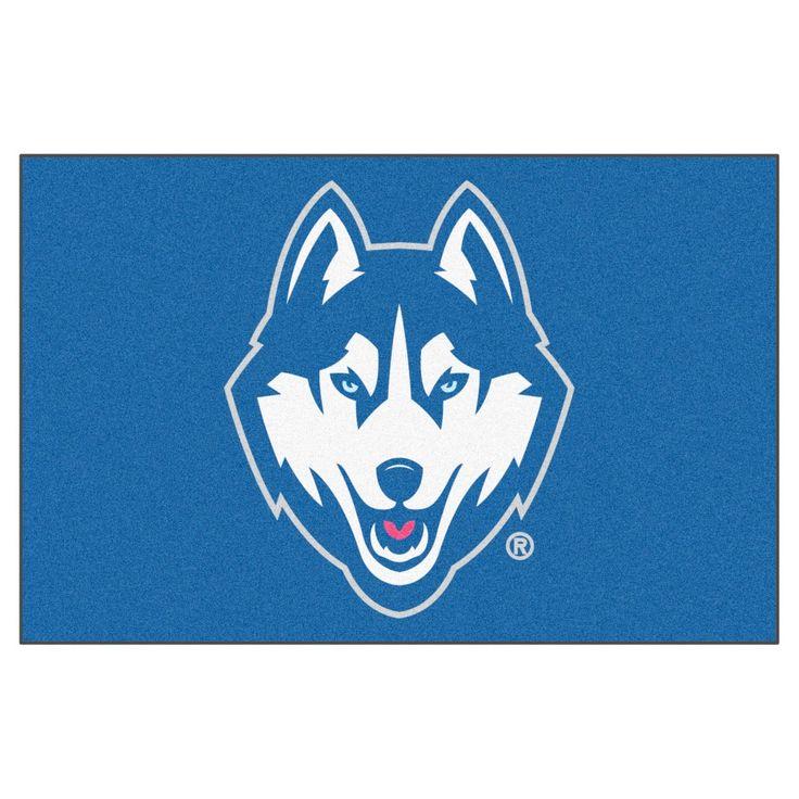NCAA 19 x 30 in. Starter Rug, Uconn Huskies