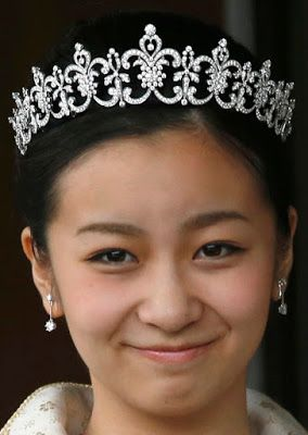 Tiara Mania: Diamond Tiara worn by Princess Kako of Akishino