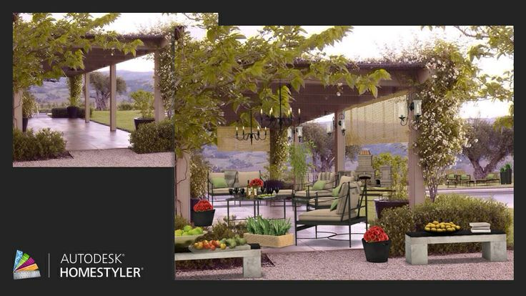 "Check out my #interiordesign ""Tuscan Terrace"" from #Homestyler http://autode.sk/1sweZNz"