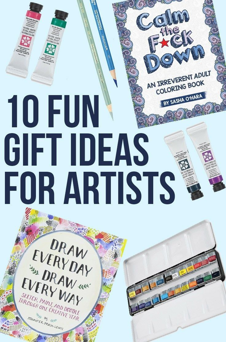 10 Fun Gifts For Artists Birthday And Holiday Presents The Artist In Your Life