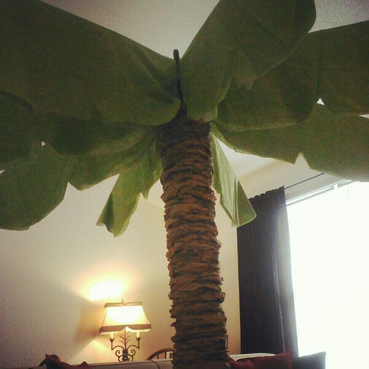 I finally finished my palm tree and OMG is it adorable! I love it and everything about it! Thanks to the help of my Mom and a cloudy Sunday ...