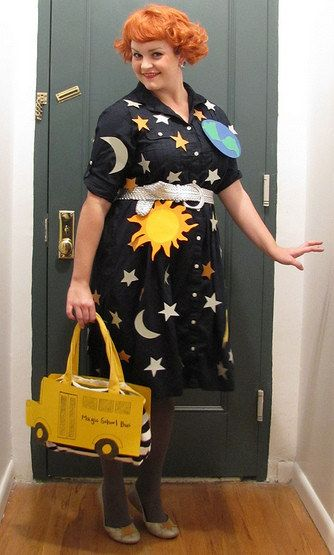 Mrs Frizzle From The Magic Schoolbus Diy Halloween