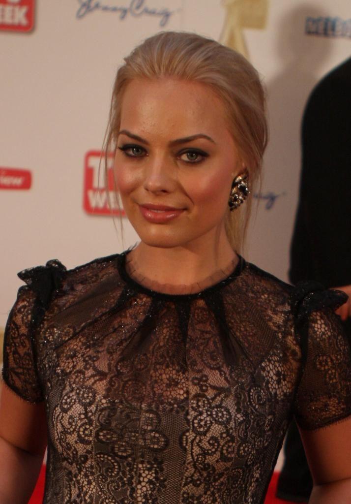'Margot Robbie' Australian actress & known as Donna Freedman on the soap opera Neighbours.