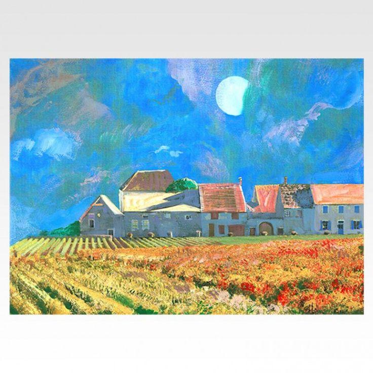 Романтические картины японской художницы Мичико Куниёши - стиль и нега Прованса в Вашем интерьере!