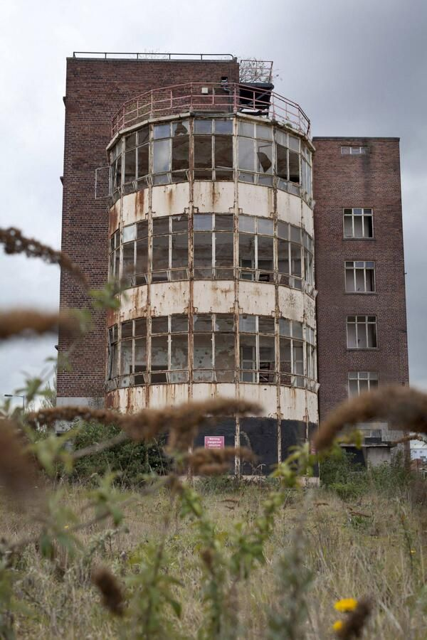 The Royal Hospital, Wolverhampton, UK.  The building became too expensive to update & maintain and it's been closed for many years.