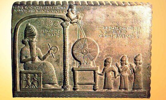 Le dieu sumérien Mardouk était un géant. Les textes le disent et les bas-reliefs le montrent.