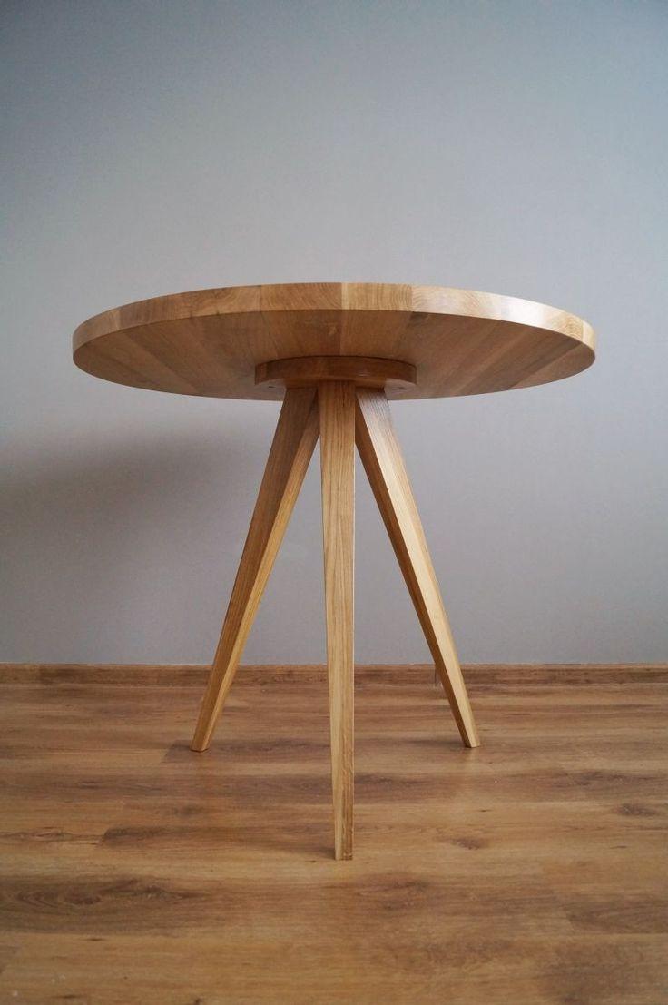 "Stół ""Just Oak 3"" od Pracownia EMBE"