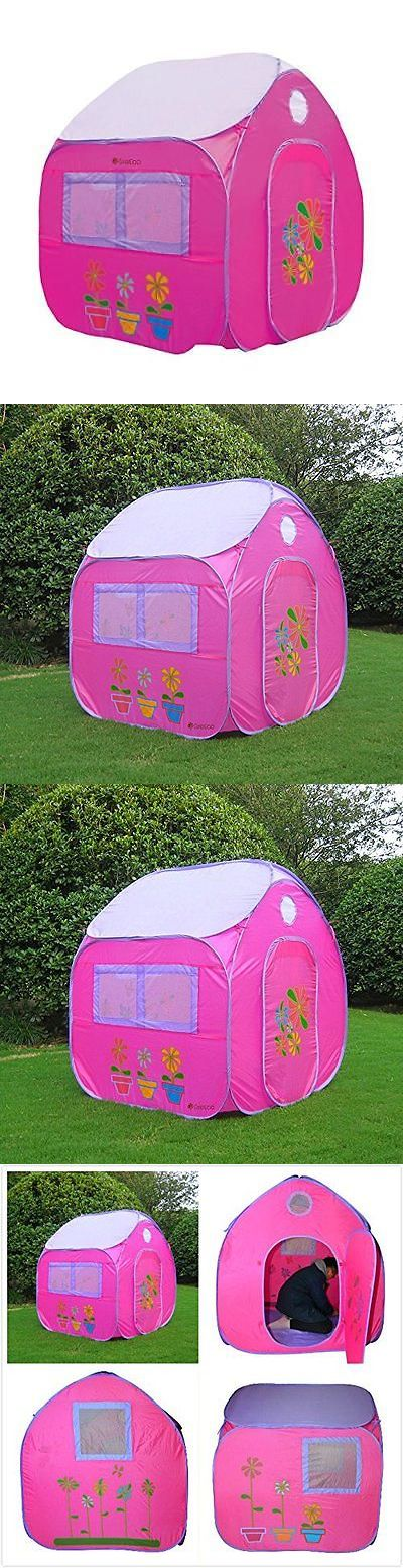 Play Tents 145997: Greeco Kids Pop Up Tent, Play House Tent, 4 X 3.45 X 3.45 Feet, Pink New -> BUY IT NOW ONLY: $33.09 on eBay!