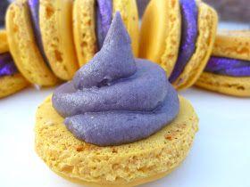 C&C Cakery: Guest Post: Kool-Aid Lemonade Macarons With Grape Kool-Aid Buttercream filling