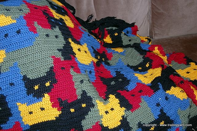 Free Crochet Pattern For Cat Afghan : Free Crochet Cat Pattern Dog Breeds Picture