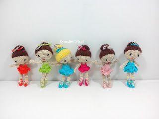 CREAZIONI FIOPI: Piccole ballerine aumentano..........