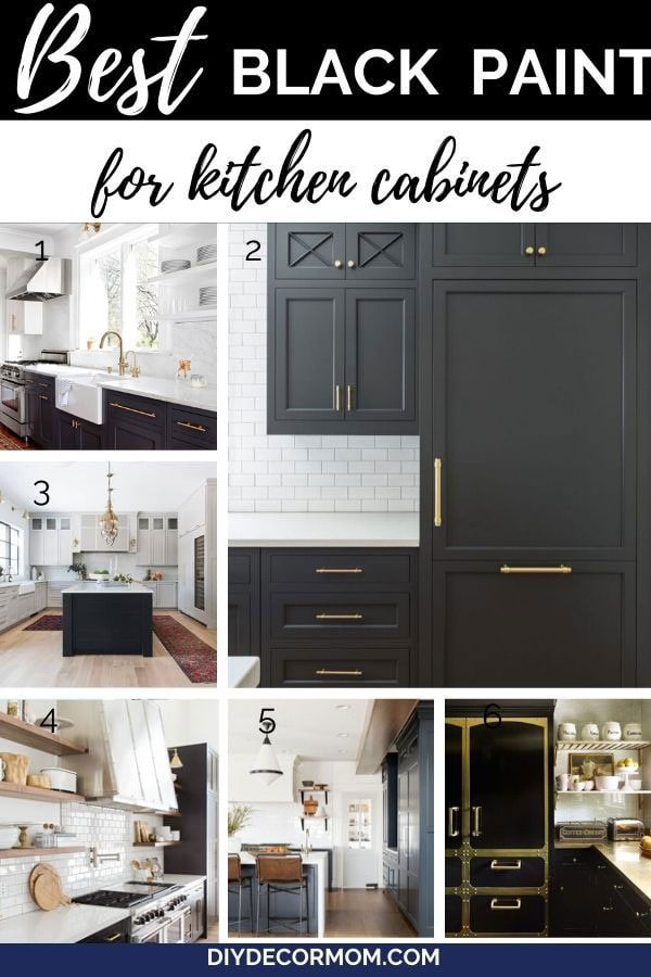 Best Black Paints For Kitchen Cabinets In 2020 Kitchen Cabinet Colors Painted Kitchen Cabinets Colors Painting Kitchen Cabinets