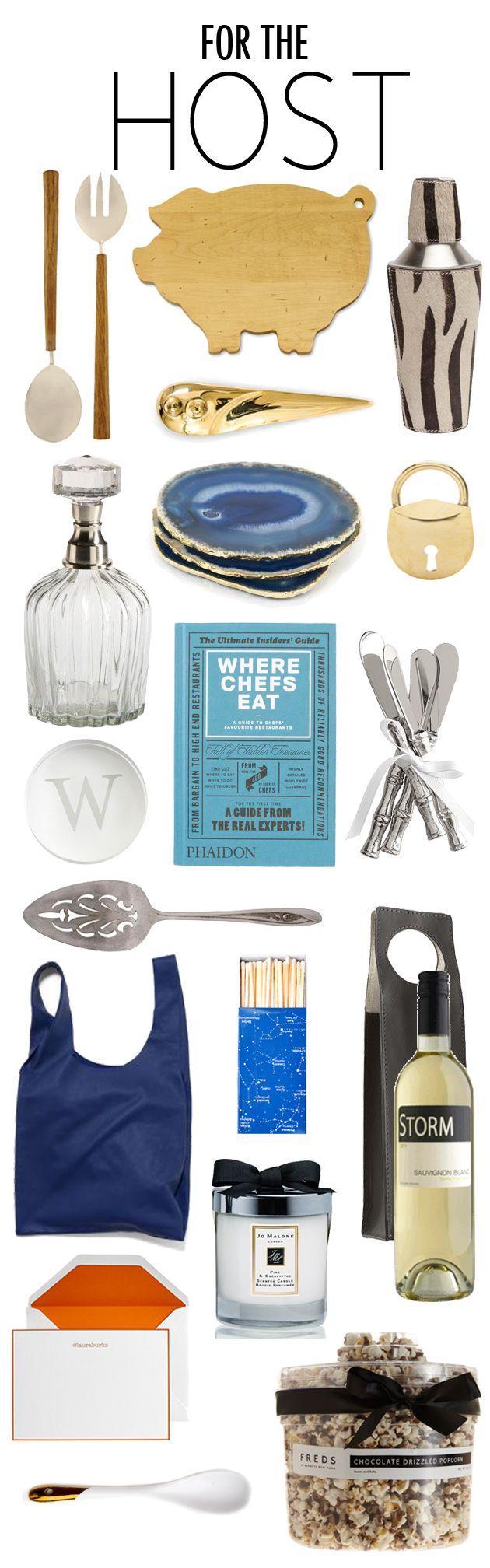 Gift Guide: For The Host