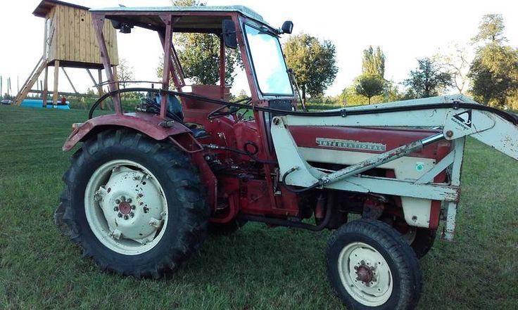 Gebrauchter Traktor MC Cormick 434 mit Frontlader