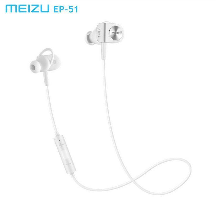 Original Meizu EP51 wireless Bluetooth earphone Stereo Headset Waterproof APT-X Sports earhud With MIC Aluminium Alloy for