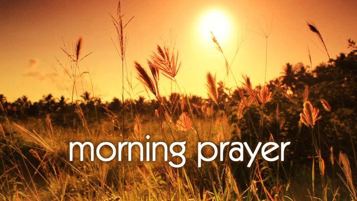 Early Morning Prayer Before Work