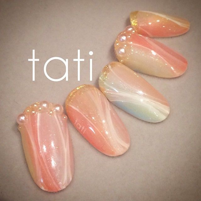 tati 竹原千晴 VETRO Art director @tati_nail 春に向けて花びら...Instagram photo   Websta (Webstagram)