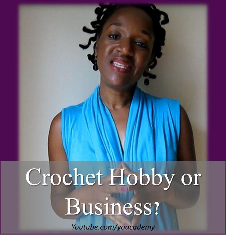 Crochet Hobby vs. Crochet Business on Yarn Obsession