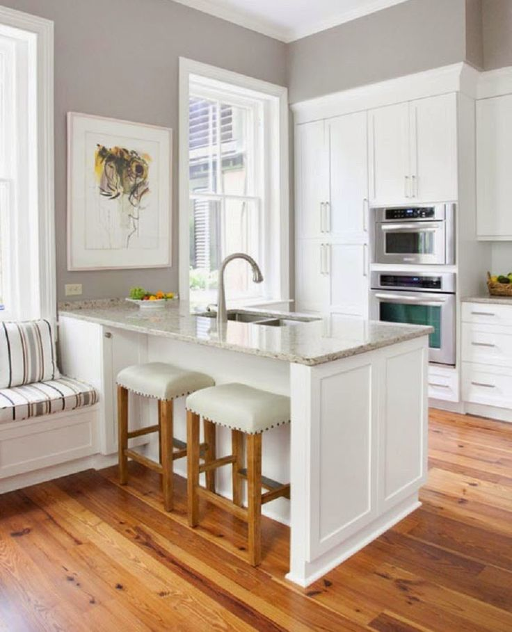 White Small Kitchen