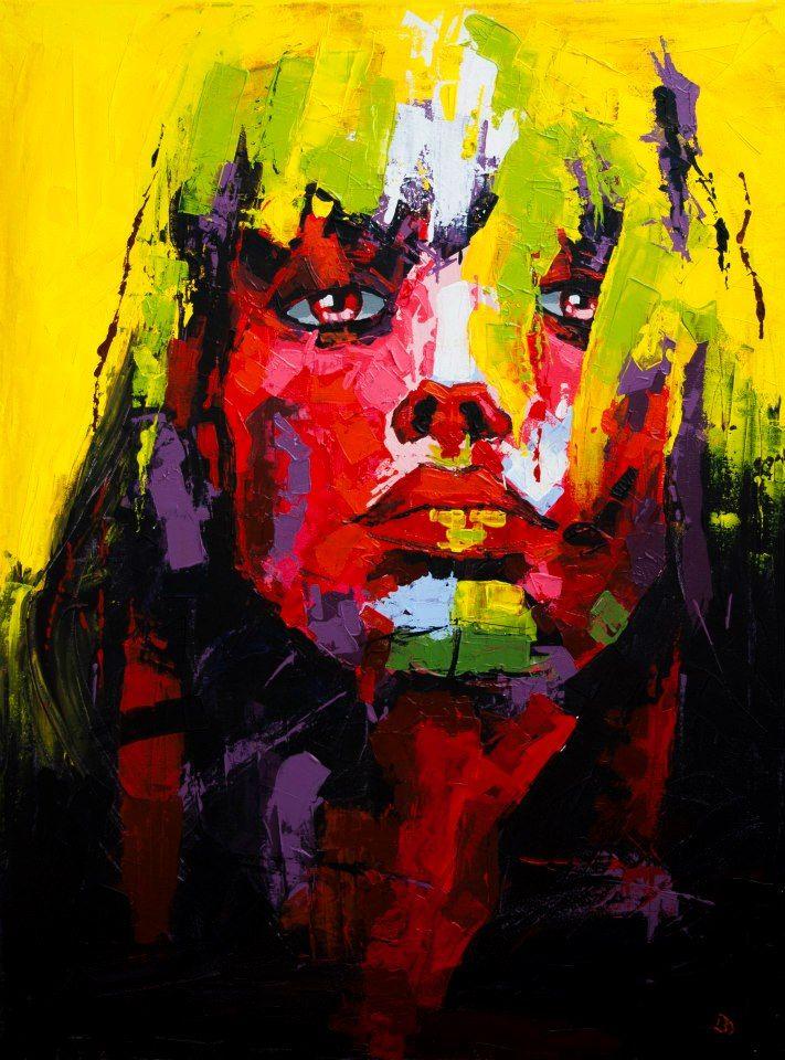 (Close VI) - Acrylic on canvas (60 x 80cm)