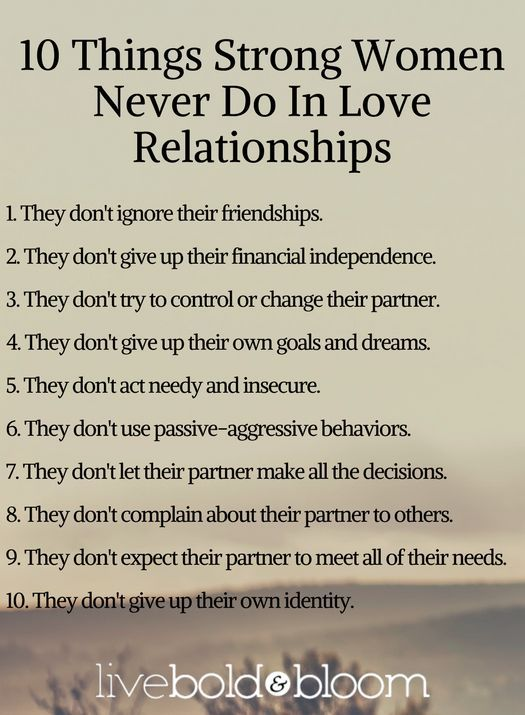 how to build a very good relationship