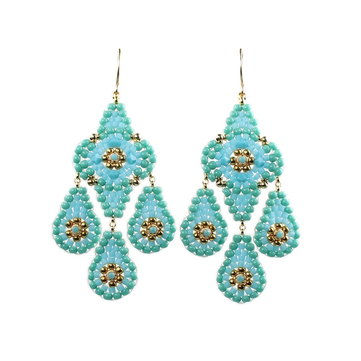 37 best Turquoise Escape images on Pinterest | Earrings, Bead ...