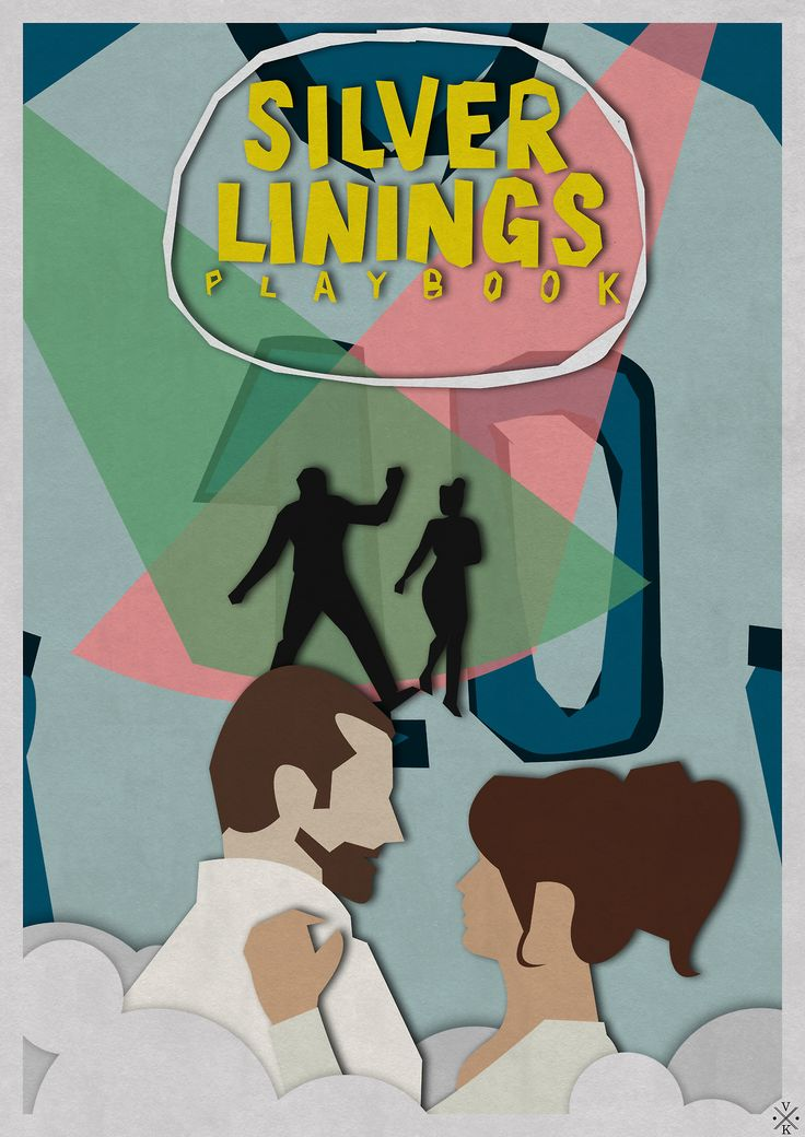 Silver Linings Playbook (2012) - Minimal Movie Poster by Bart van Ackooij #minimalmovieposter #alternativemovieposter #bartvanackooij