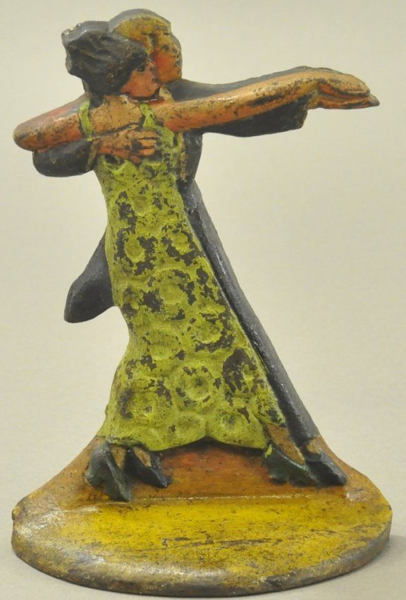 TANGO DANCERS DOORSTOP - 500 Best Door Stops - Vintage Cast Iron Images On Pinterest Door