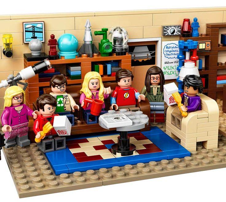LEGO Big Bang Theory – Leonard, Sheldon, Penny et les autres débarquent en minifigs