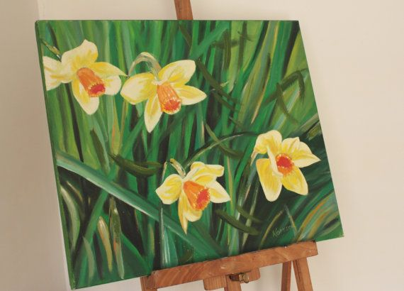 Narcissi by BarbaraGallery on Etsy