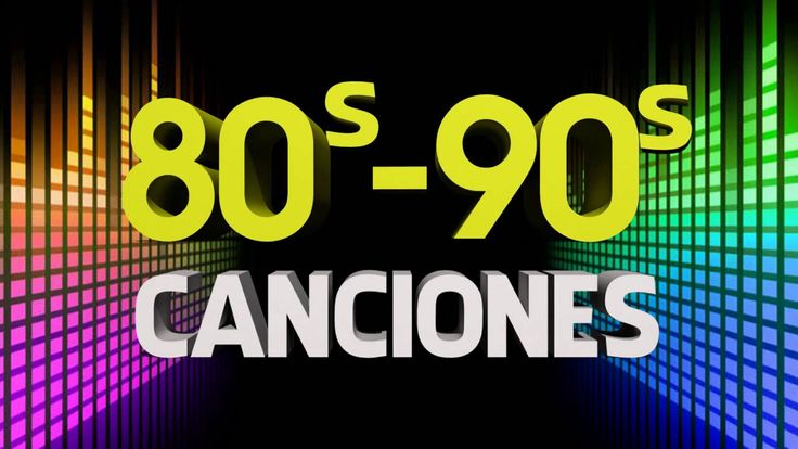 Las Mejores De Los 80 y 90 En Ingles Canciones
