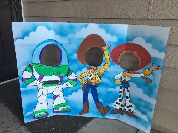 This will add the perfect touch to your Toy Story party! Kids and adults alike have so much fun posing in the different character faces, it really